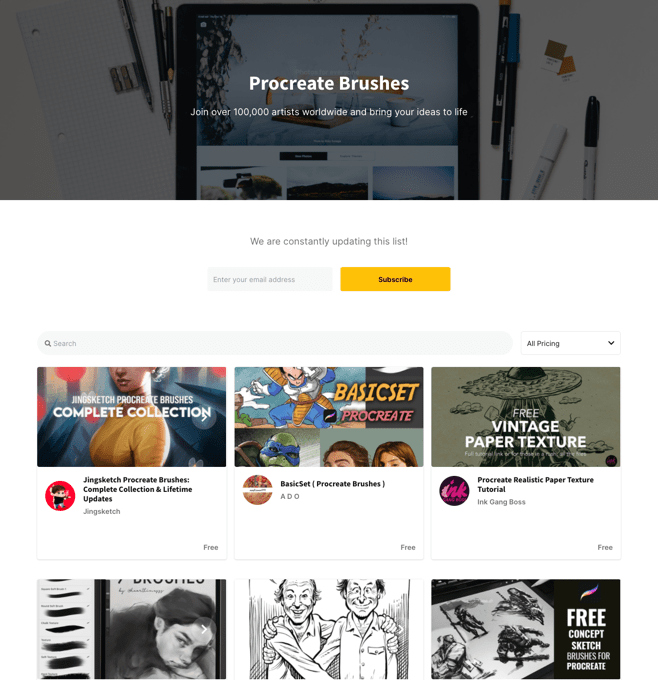 A marketplace like Fiverr